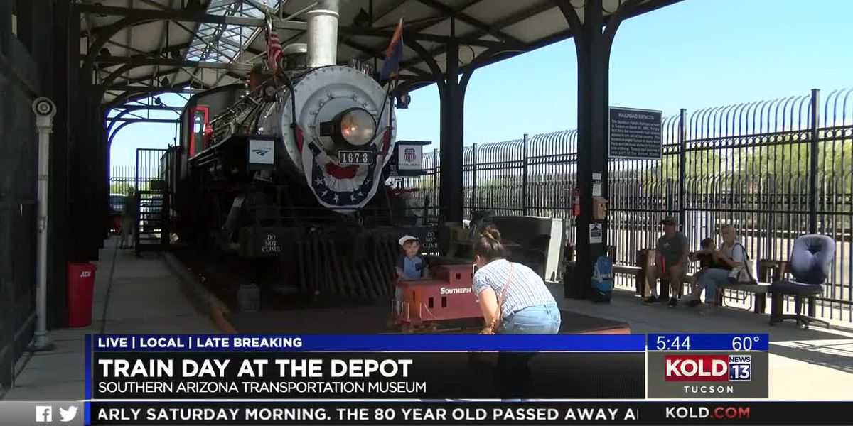 WATCH: Train Day at the Depot