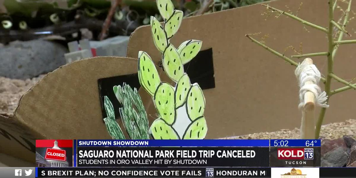 Saguaro National Park field trip canceled