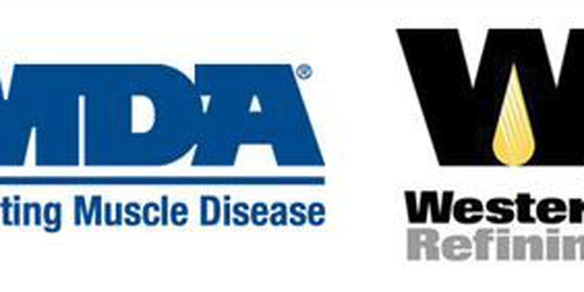 Western Refining raises money for MDA
