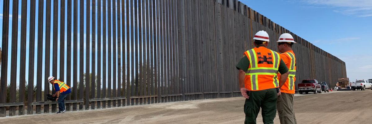 CRISIS ON THE BORDER: Crews begin wall construction in Yuma