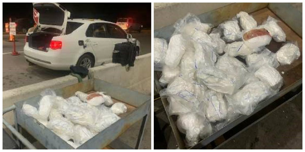 Arizona Border Patrol agents discover 31 pounds of meth in vehicle gas tank