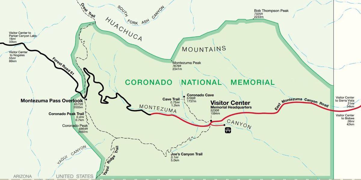 Coronado National Memorial free public programs for winter and spring visitors