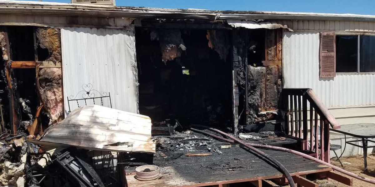 Small animals perished as result of Sahuarita mobile home fire