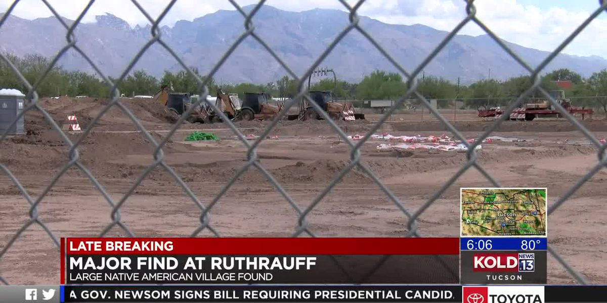 Archaeologists continue excavation at I-10, Ruthrauff interchange