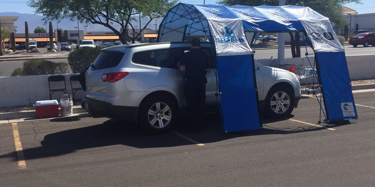 HAPPENING NOW: TPD hosting drive-through car seat inspection event