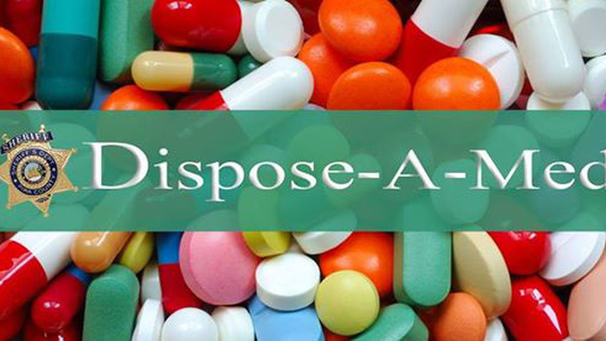 Surrender expired, unused prescription drugs at Dispose-A-Med event this weekend, no questions asked
