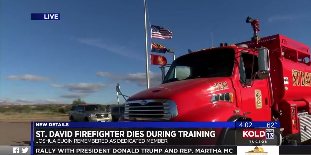 St. David firefighter dies during training