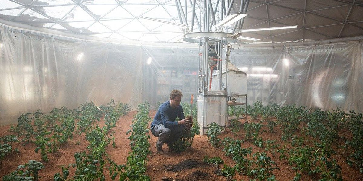 The Martian movie not all that far-fetched