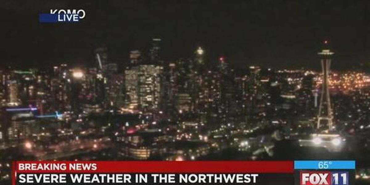 Storm slams Pacific Northwest