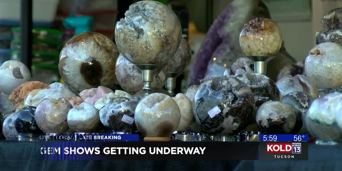 Tucson Gem and Mineral Show to kick off this weekend