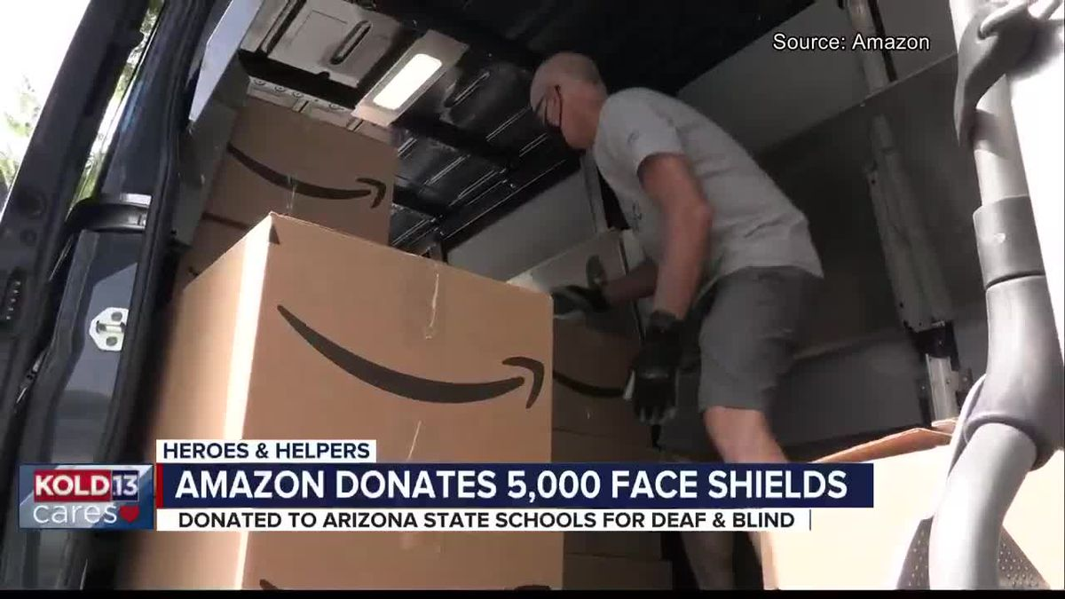 Heroes and Helpers: Amazon mask delivery