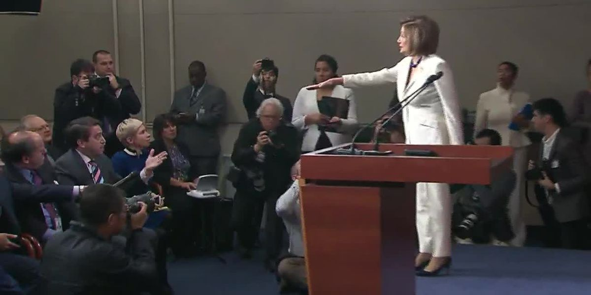 Pelosi had a testy exchange with a reporter: 'I don't hate Trump'