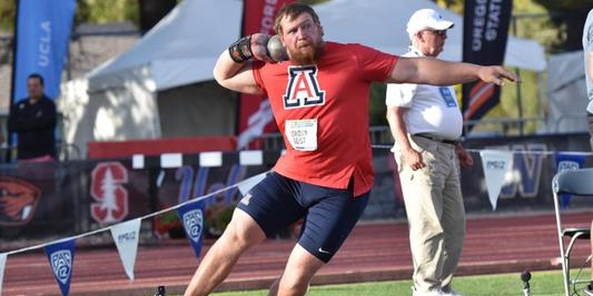 2 UA tracksters win Pac-12 titles