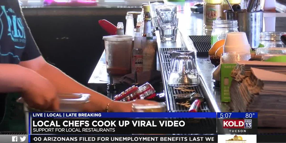 Local chefs cook up a viral video to support Tucson eateries