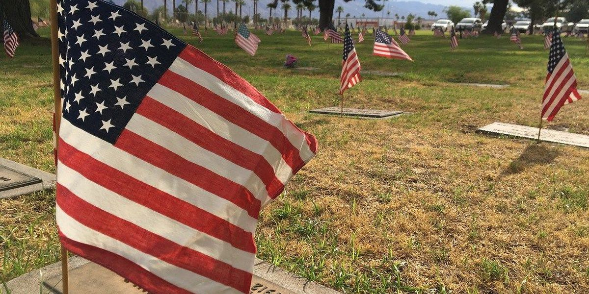 Honoring the Fallen: Volunteers Plant Thousands of Flags on Veteran Graves
