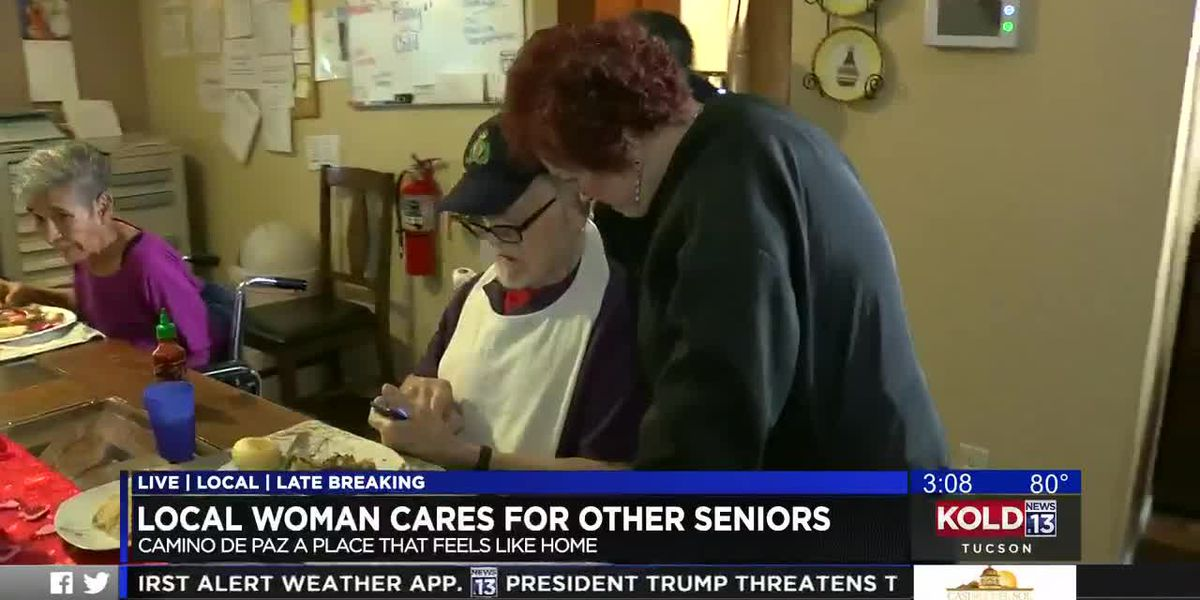 Local woman cares for other seniors