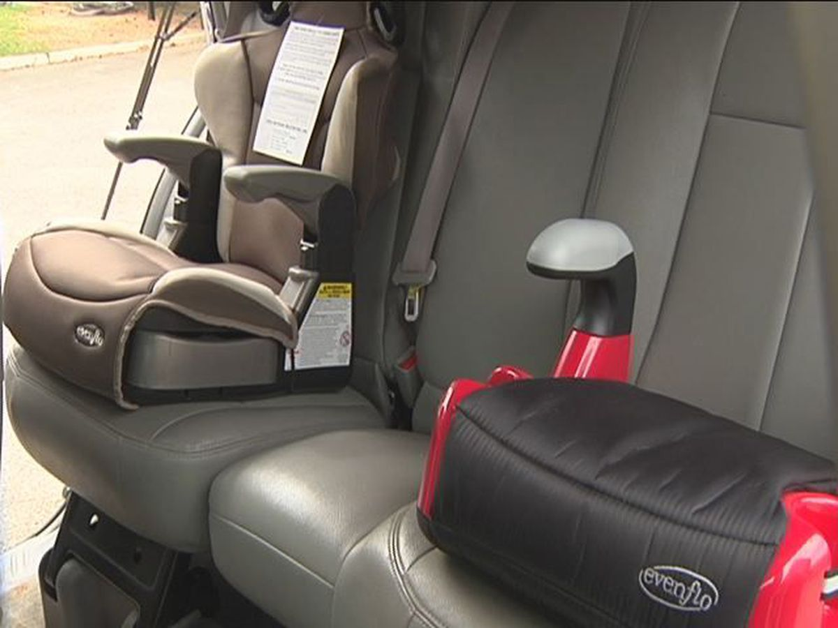 PCSD is checking child safety seats during Child Passenger Safety Week
