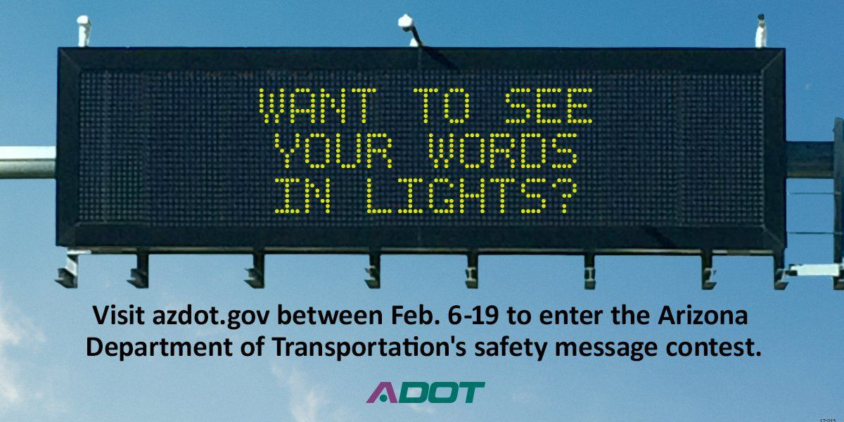Concurso del Departamento de Transportación de Arizona
