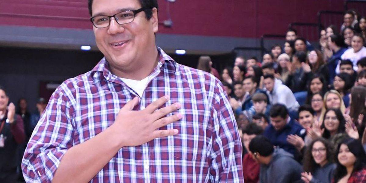 Strong student reactions earn chemistry teacher Jonathan Cadena a $25,000 Milken Educator Award