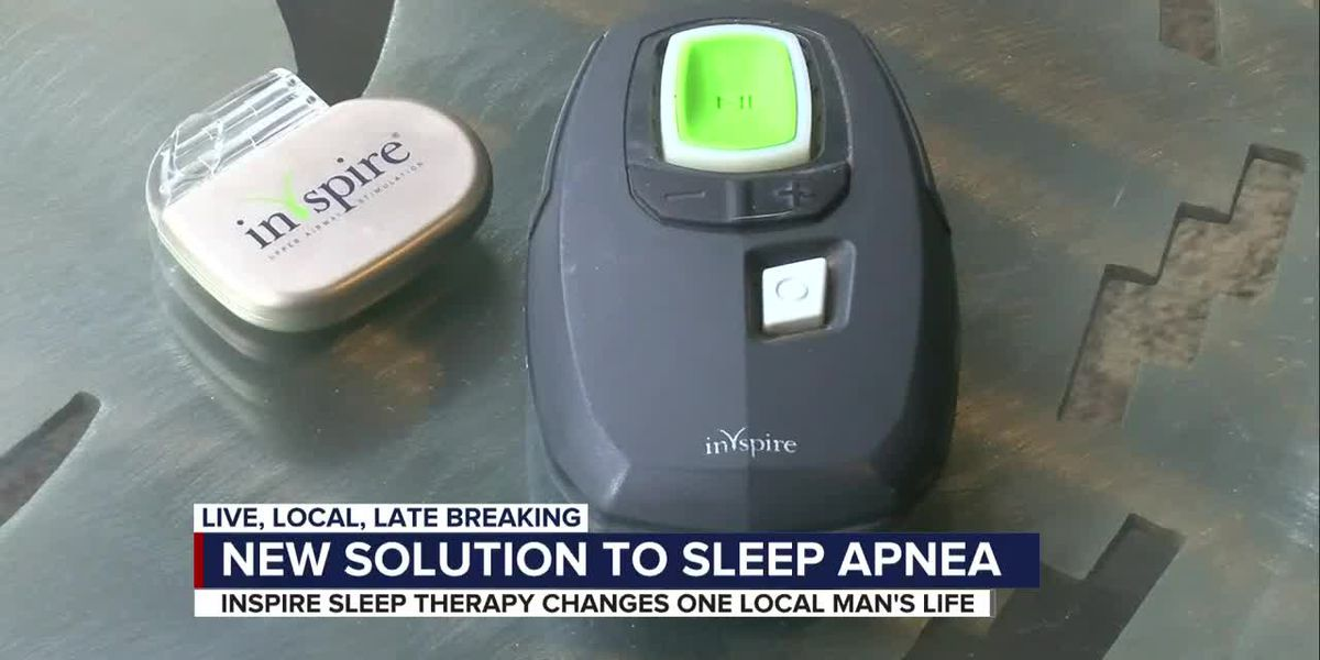 Tucson man is beating sleep apnea thanks to new therapy
