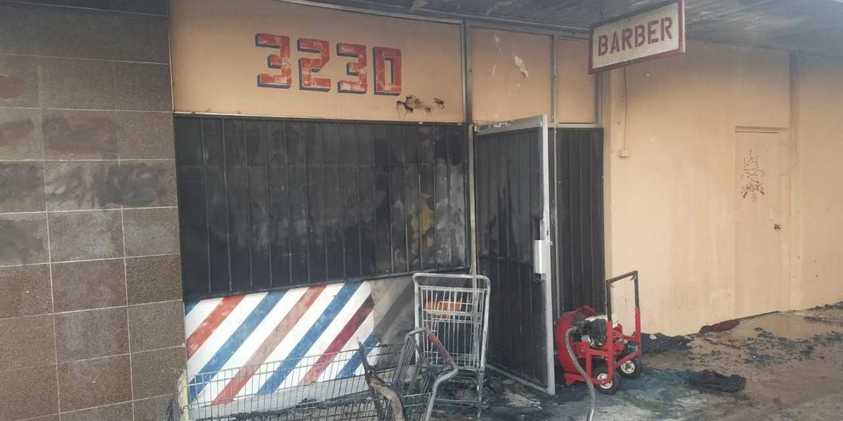 Nearby business owners frustrated following fire outside barbershop in Tucson