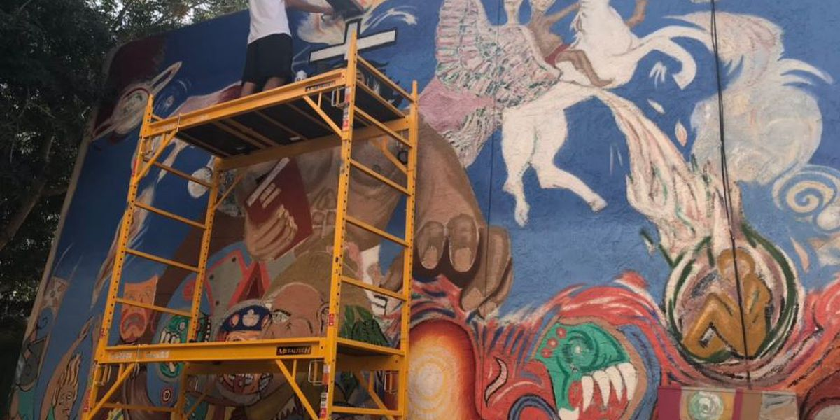 Artists work to restore history on Tucson's west side