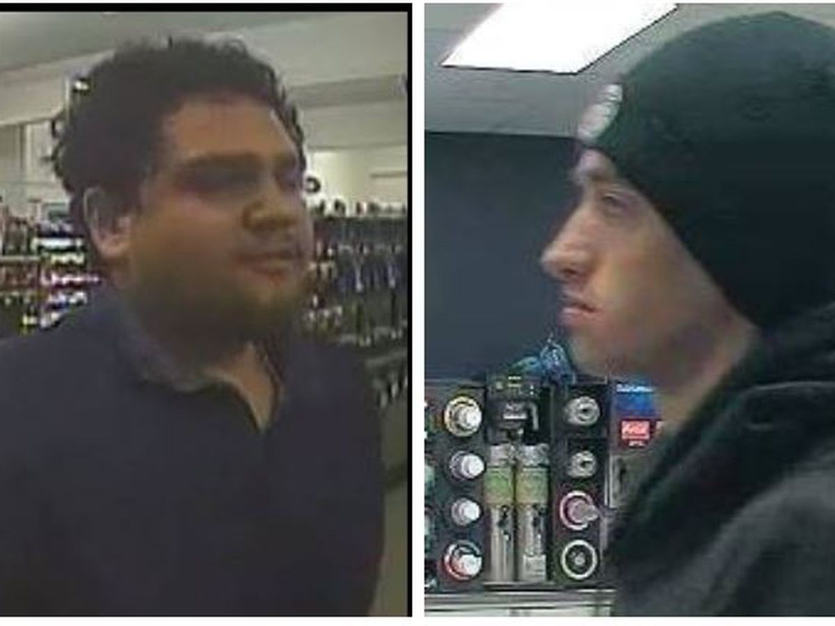 Help TPD detectives identify two suspects in May 5 armed robberies
