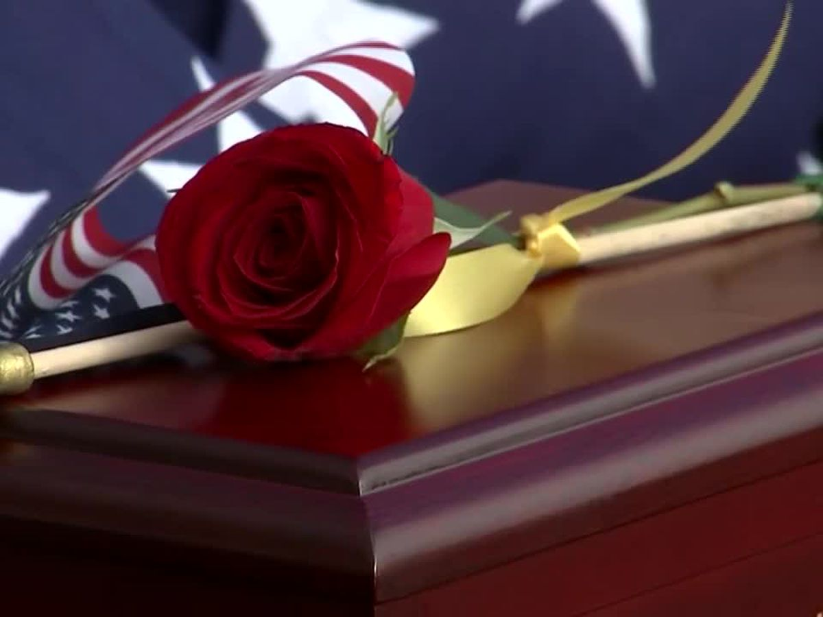 Hundreds pay final respects to WWII veterans whose remains were left unclaimed