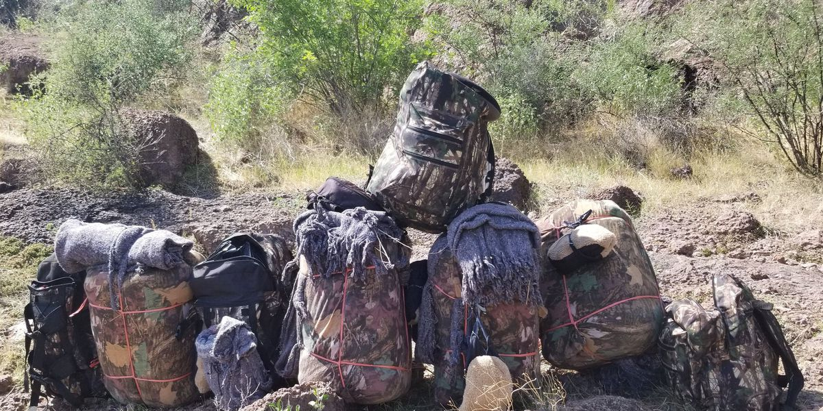Authorities arrest meth smugglers in Arizona mountains
