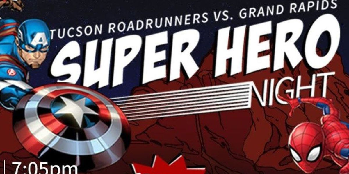 Roadrunners and Banner Health join forces for Superhero night