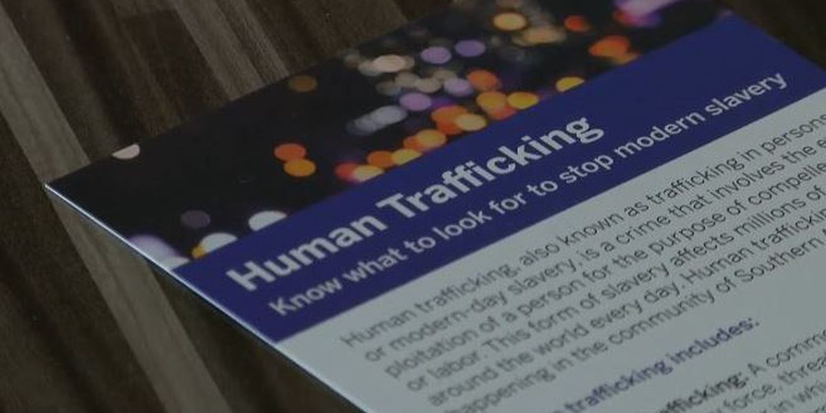Police increase efforts amid Human Trafficking Awareness month