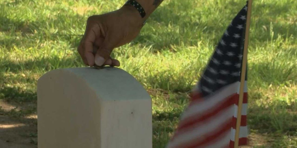 Penny for your thoughts; two strangers meet to remember veterans
