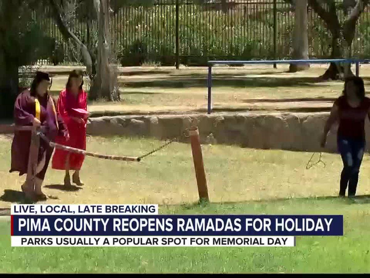 Pima County opens park ramadas for Memorial Day