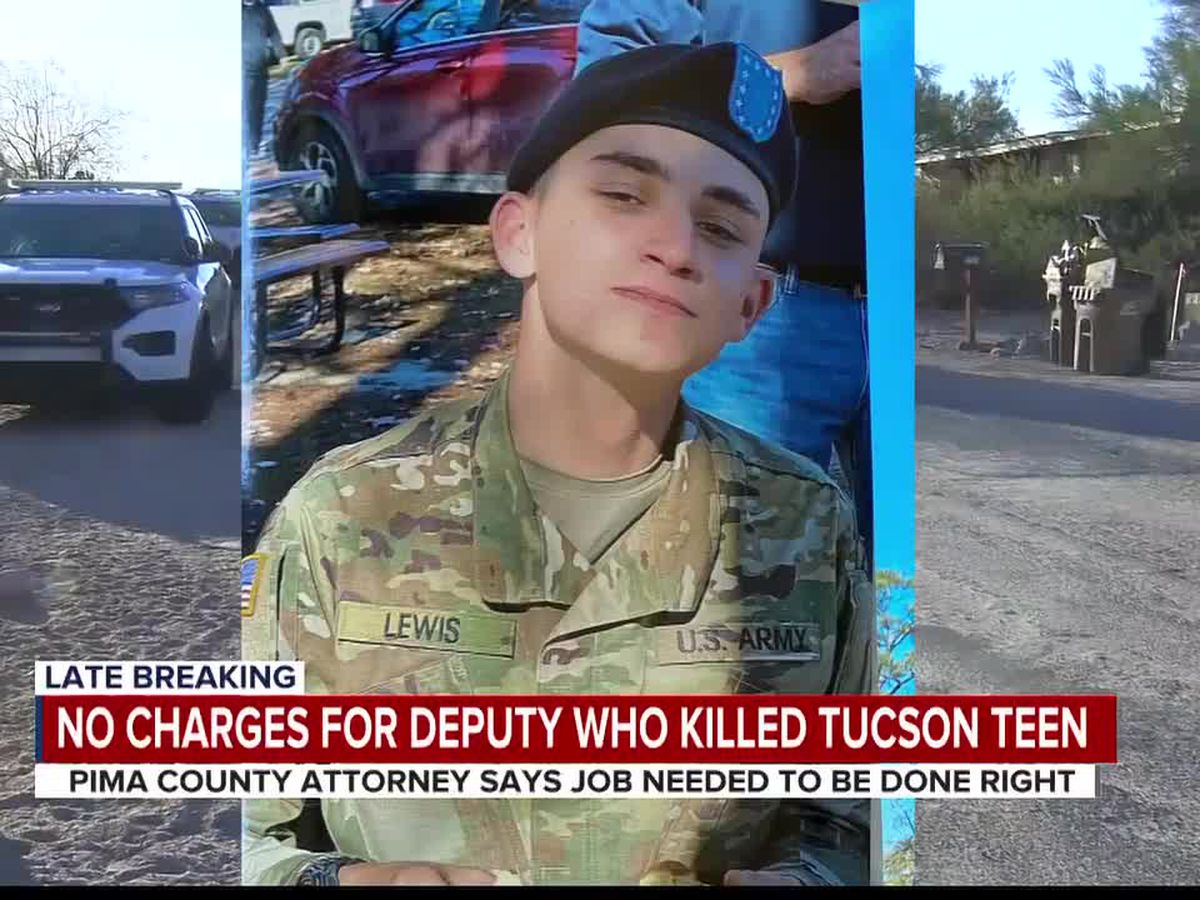 Pima County deputies involved in deadly shooting of 19-year-old won't face charges following final review from county attorney