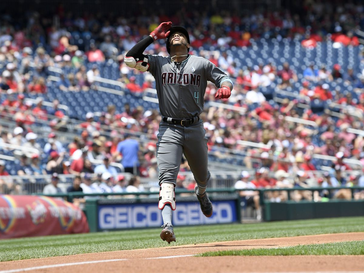 Adams has 2 HR, 7 RBIs as Nats pound D'backs 15-5