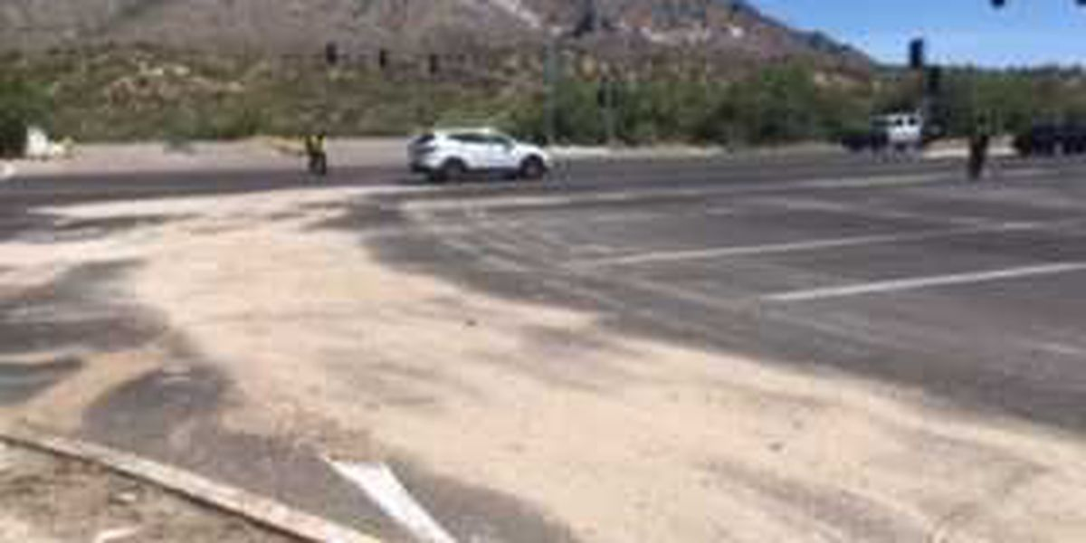 UPDATE: Lanes reopen in Oro Valley after paint spill