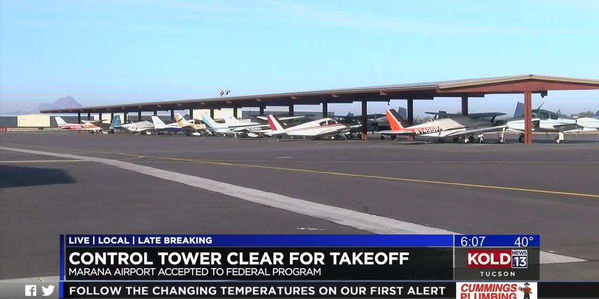 Marana airport closer to getting air-traffic control tower