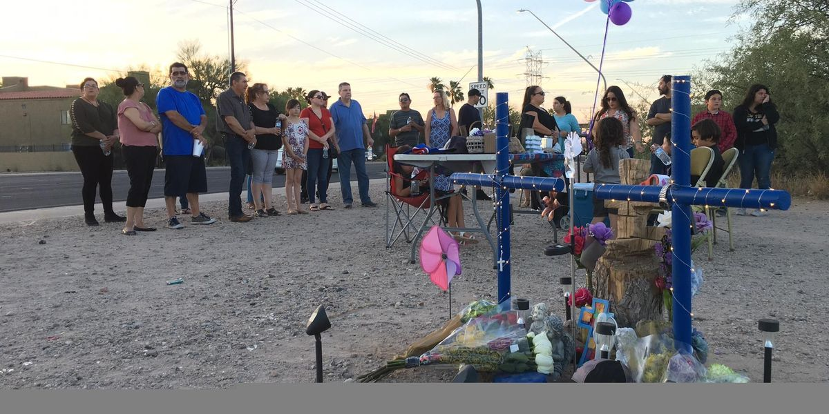 Vigil marks anniversary of couple killed by hit-and-run driver in Tucson