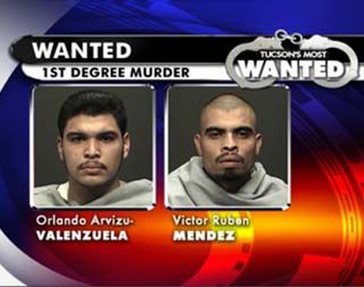Tucson's Most Wanted: Murder Suspects