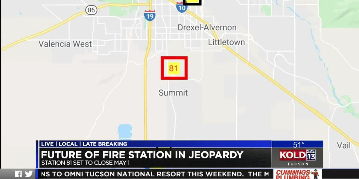 Rural Metro Fire Department to close station near Tucson International Airport