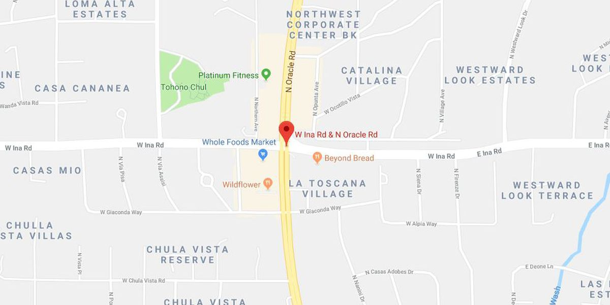 Bicyclist hit near Ina, Oracle