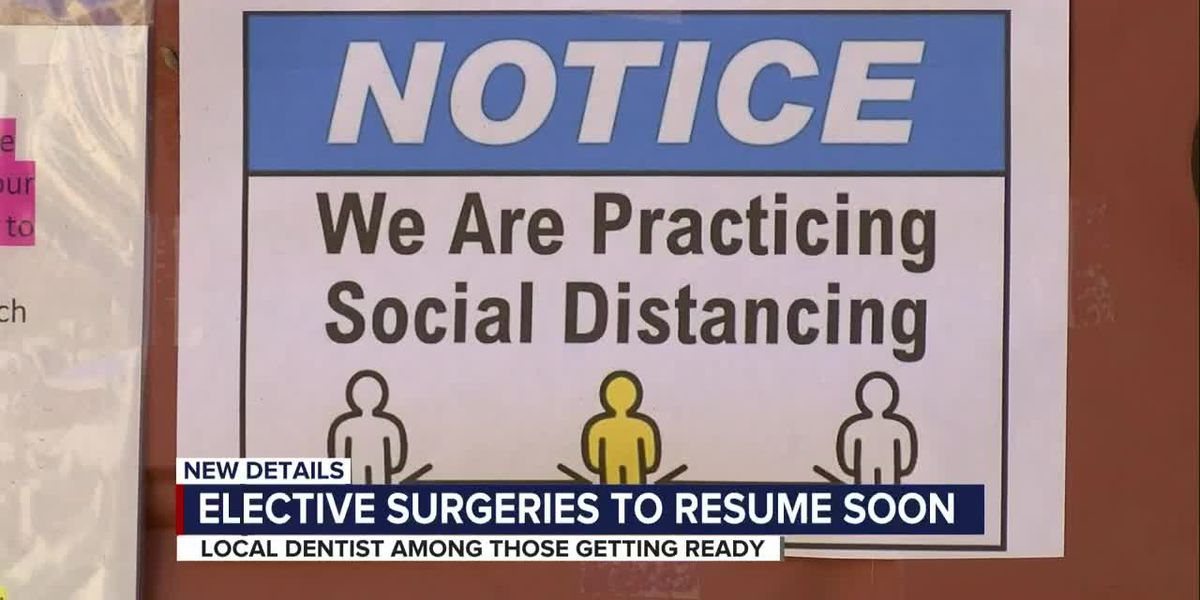 Tucson dentist prepares office to get elective surgeries on the schedule