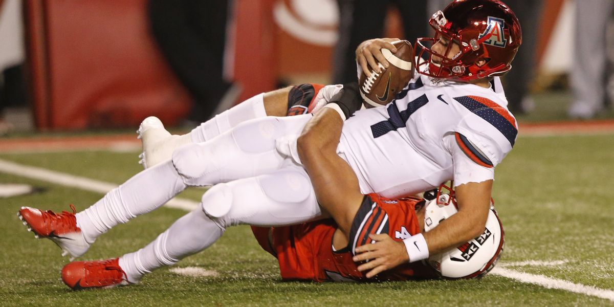 OUCH: Utah, Huntley bear down on Arizona in 42-10 rout; Rhett Rodriguez shines in losing effort