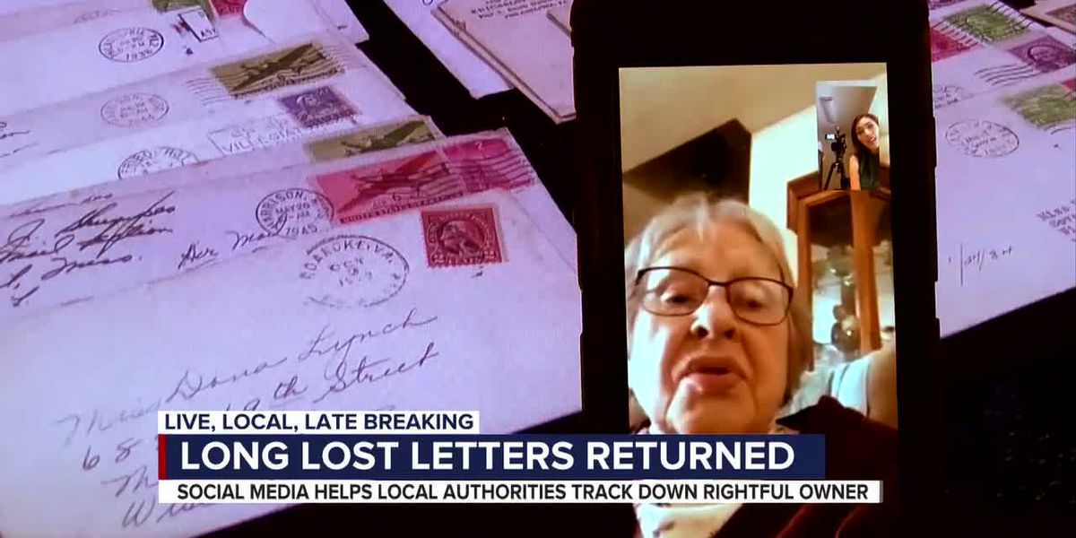 UPDATE: 100-year-old letters recovered from stolen vehicle sent to family member in Indiana