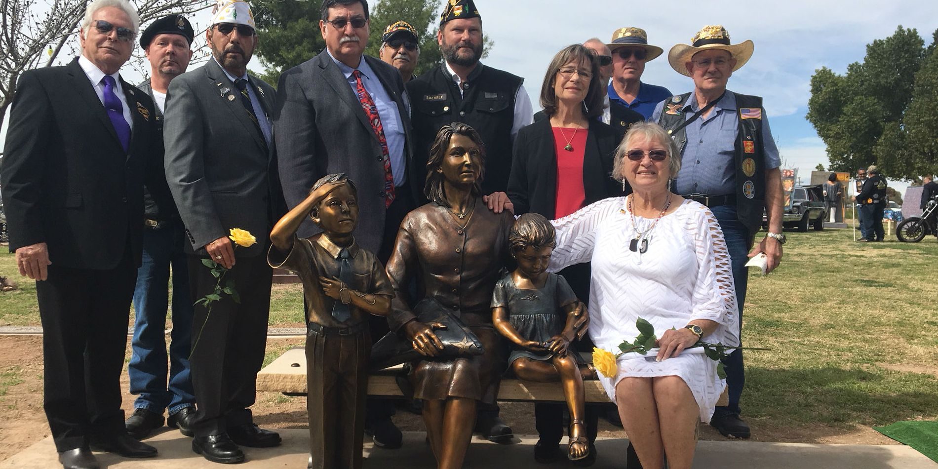 Tucson cemetery unveils statue dedicated to Gold Star families