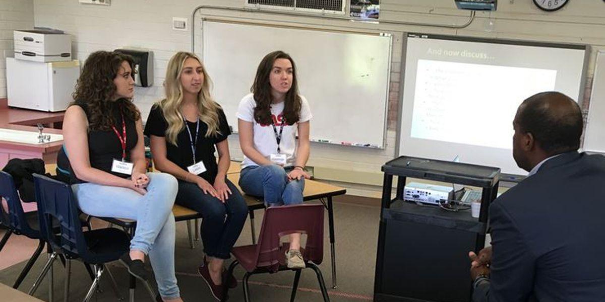 UA education majors talk Red For ED
