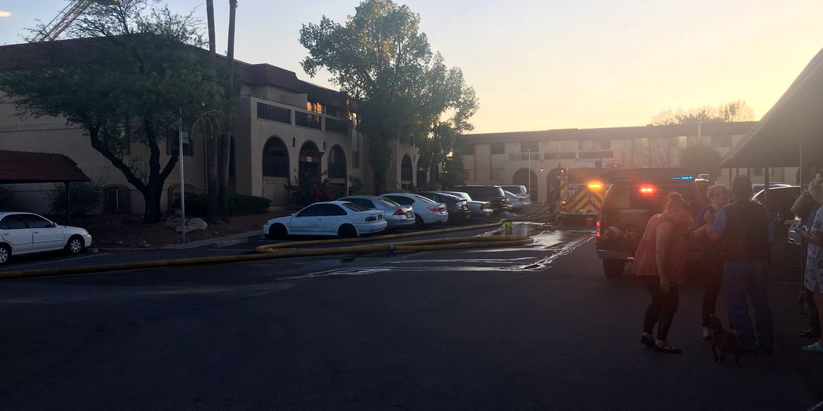 Northwest Fire investigating condo fire, more than a dozen people without a home