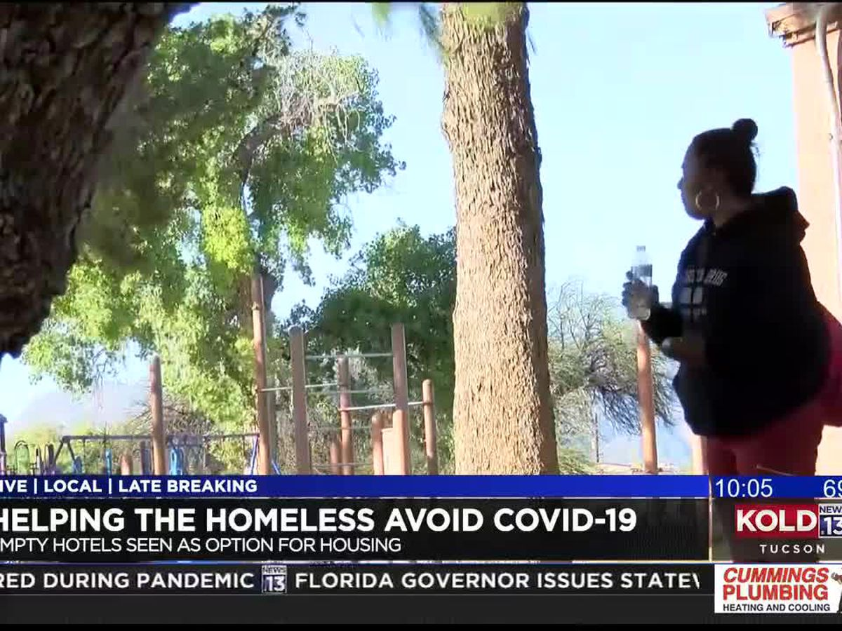Helping the homeless combat COVID-19