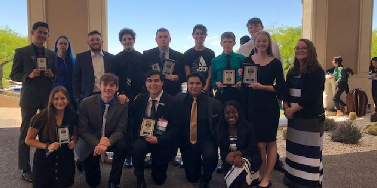 Mountain View H.S. FBLA members medal in 8 events at State, qualify for Nationals