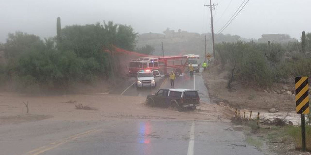 Lives saved: Tucson-area fire crews called out for swift-water rescues during monsoon